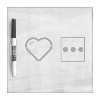 I Love The Menus Dry Erase Boards