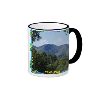 I Love the Mountain Ringer Coffee Mug