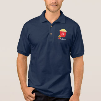 I Love the Movies Polo Shirt