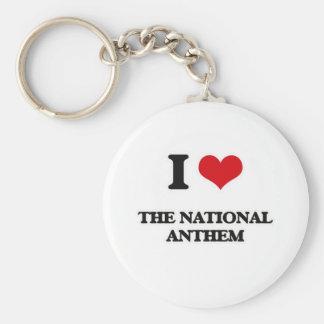 I Love The National Anthem Keychain