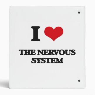 I Love The Nervous System Binder