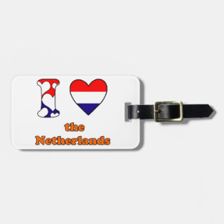 I love the Netherlands Tag For Luggage