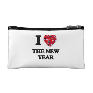 I love The New Year Cosmetic Bags