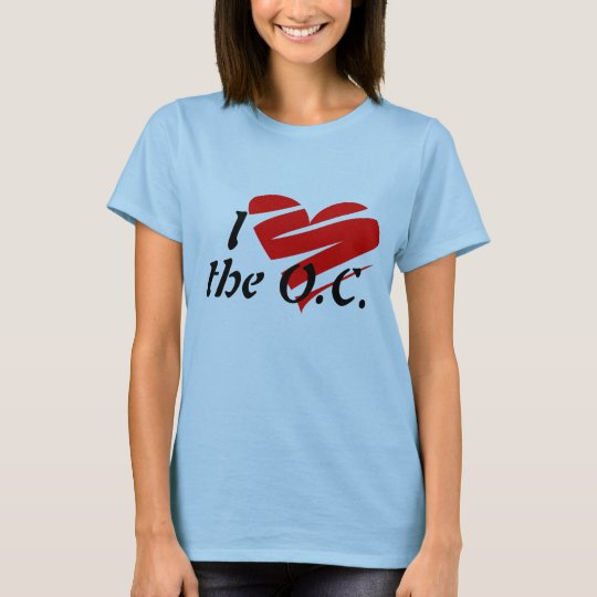 I Love  the O.C. Shirt