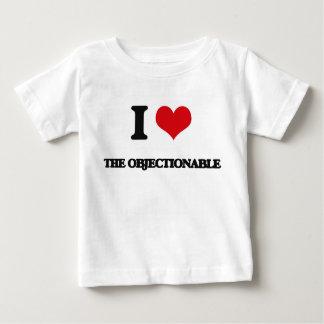 I Love The Objectionable Tee Shirt