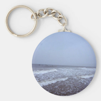 I Love The Ocean! Keychain