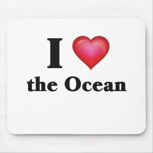 I love the ocean mouse pad