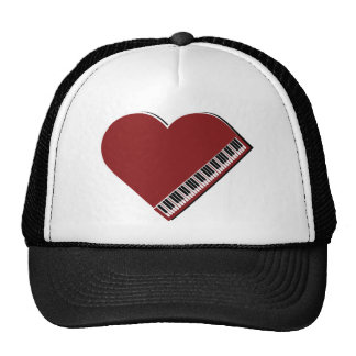 I love the Piano Trucker Hats
