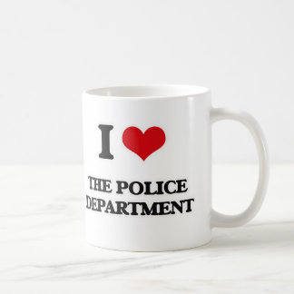 I Love The Police Department Coffee Mug