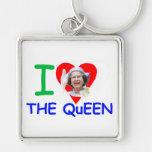 I love the Queen - Queen Elizabeth II Key Chain