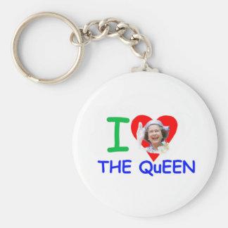 I love the Queen - Queen Elizabeth II Keychain