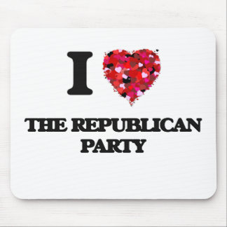 I love The Republican Party Mouse Pad