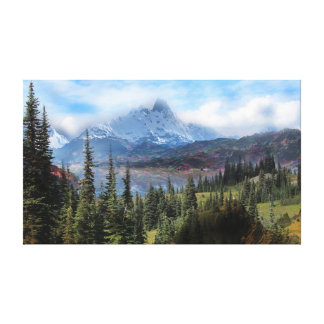 I-love the Rocky Mountains Canvas Prints