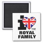 I Love the Royal Family Magnet
