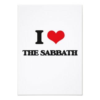 I Love The Sabbath 5x7 Paper Invitation Card