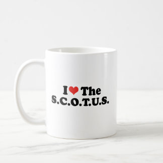 I LOVE THE SCOTUS - .png Classic White Coffee Mug