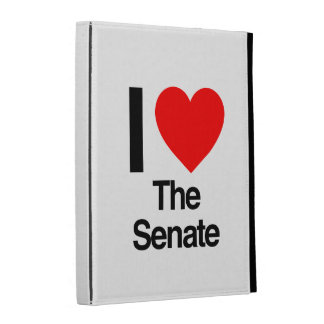 i love the senate iPad case