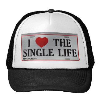i love the single life trucker hat