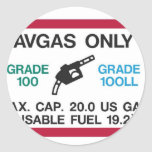 I love the smell of AVGAS in the morning! Sticker