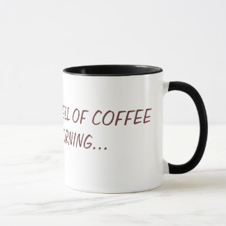 I LOVE THE SMELL OF COFFEEIN THE MORNING... MUG
