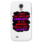 I Love the Smell of Downloads! Funny Geek Joke - R Galaxy S4 Cases