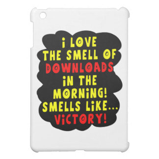 I Love the Smell of Downloads! Funny Geek Joke - Y iPad Mini Covers