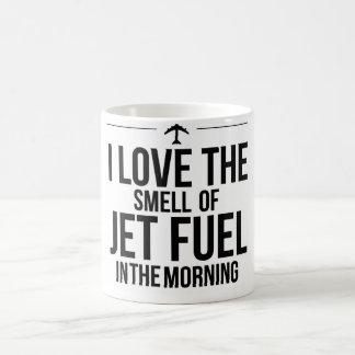I Love the Smell of Jet Fuel Mug
