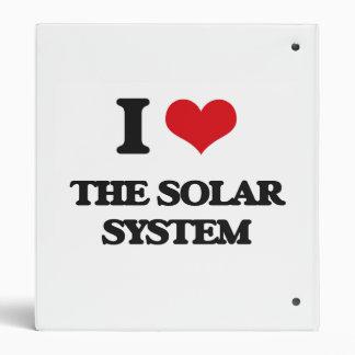I love The Solar System Vinyl Binders