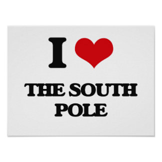 I love The South Pole Poster