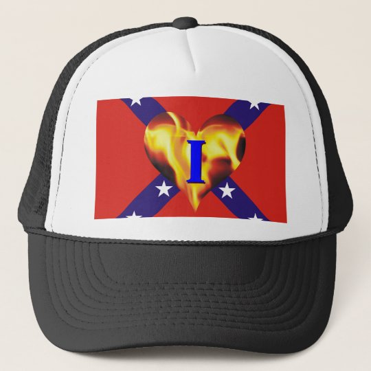 I Love the South Trucker Hat