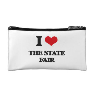 I love The State Fair Cosmetics Bags