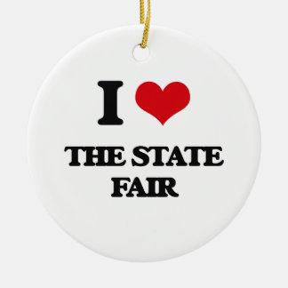 I love The State Fair Ceramic Ornament