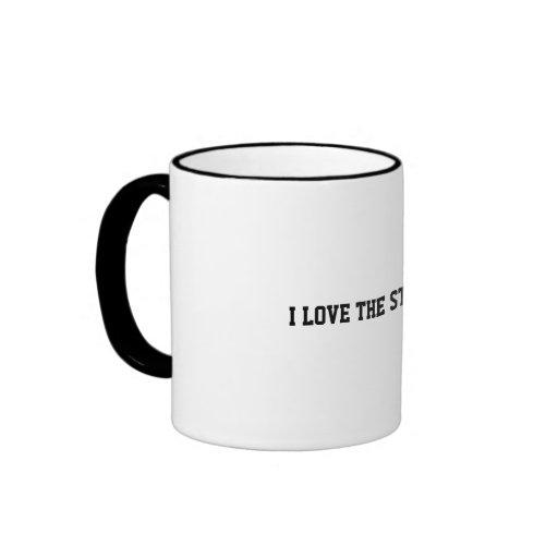 I LOVE THE STEELERS RINGER COFFEE MUG