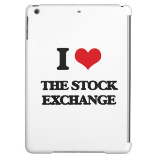 I love The Stock Exchange iPad Air Covers