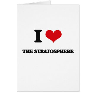 I love The Stratosphere Greeting Card