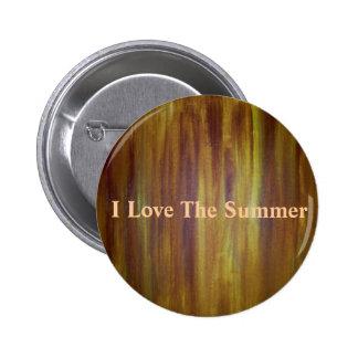 I Love The Summer Pins