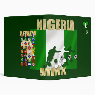 I love the Super Eagles - Naija gifts for fans Binder