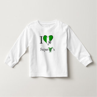 I love the Super Eagles - Naija gifts for fans Toddler T-shirt