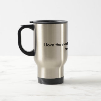 I love the sweet smell of Diamonds in the Morning! Travel Mug