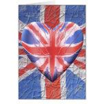 I Love the UK! Greeting Card