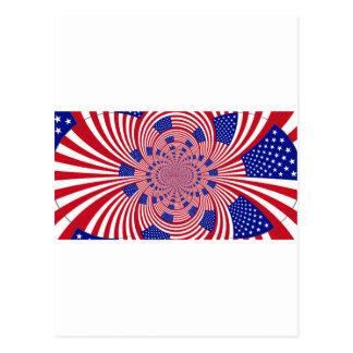 I Love The United States Postcard