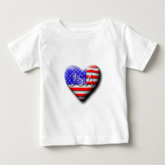 I love The USA Baby T-Shirt