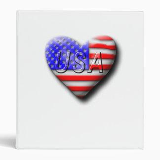 I love The USA 3 Ring Binder