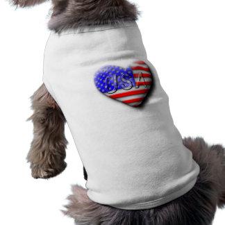 I love The USA Dog Tee