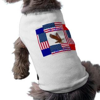 I love The USA Patriotic Pooch Dog t-Shirt