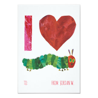 I Love The Very Hungry Caterpillar Card