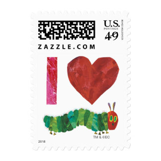 I Love The Very Hungry Caterpillar Postage