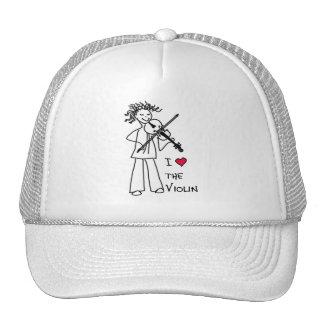 I Love The Violin Cap for the Violin Site Store