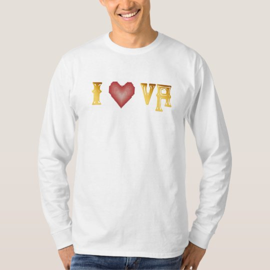 I Love The Virgin Islands Shirt