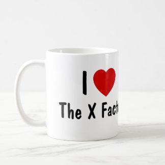 I Love The X Factor Coffee Mug